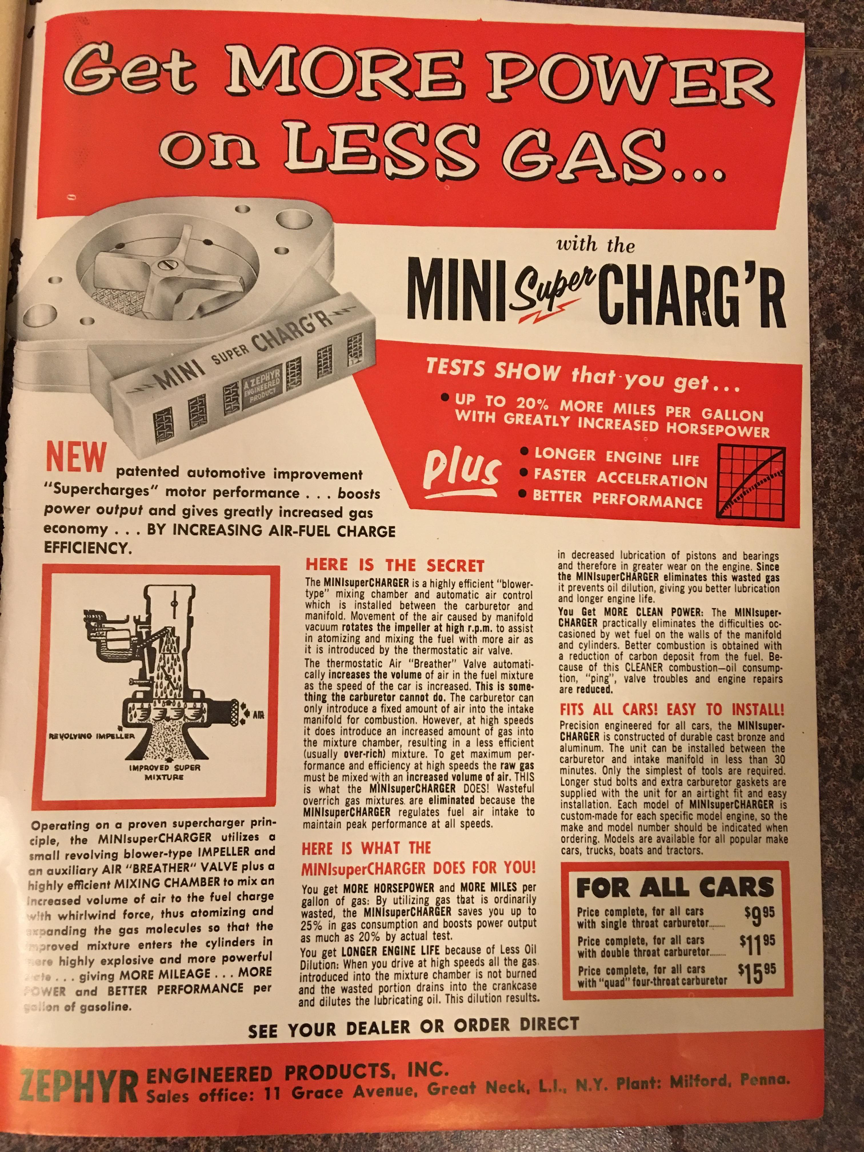 BangShift.com Zephyr Mini Super Charg'r