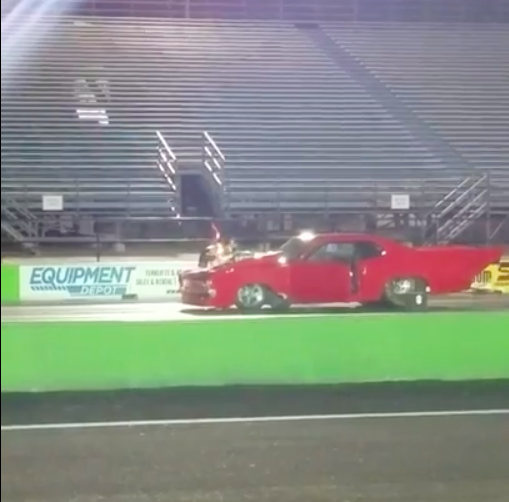 Wild Video: When This Blown Pro Mod Explodes A Blower You Can Hear The Parts Rain Down Into The Stands