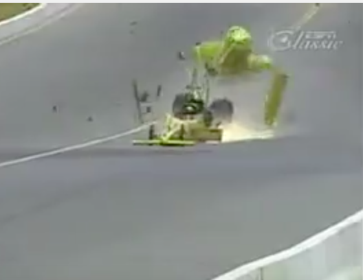 Watch Eddie Hill's Insane Wreck From NHRA Sonoma 1997 – He Was Back At The Track The Same Day!
