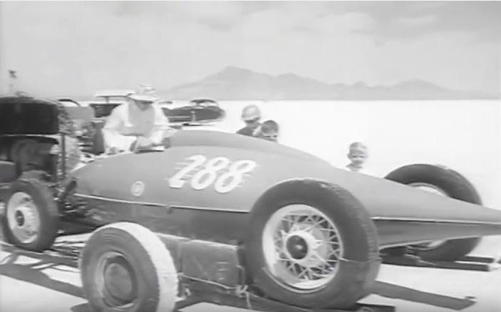 Historical Bonneville Video: This Glimpse Of Hot Rods On The Salt Will Make You Smile