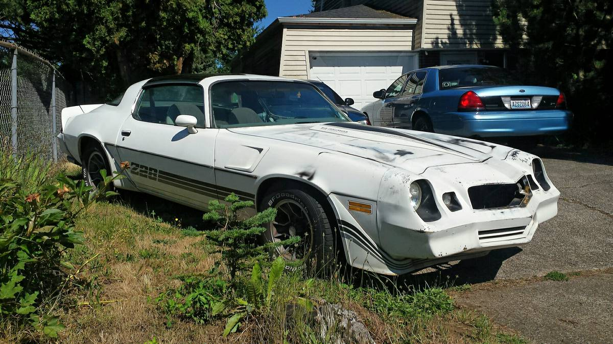Rough Start Is This 1980 Chevrolet Camaro Z28 A Great Low Buck Restoration Candidate