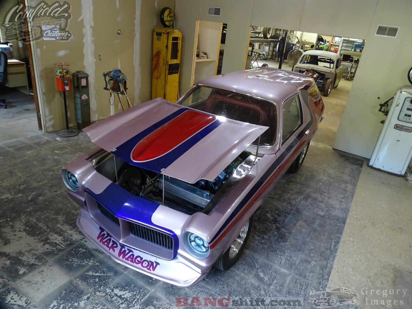 Cornfield Customs: Our Tour Of The Shop Continues – Cool Stuff Everywhere