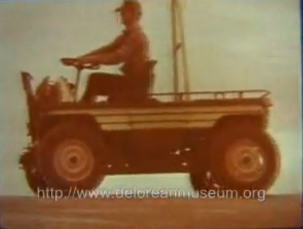 Video: A DeLorean That's Way Cool! The DMC-44 Utility Truck That Never Made It Into Production