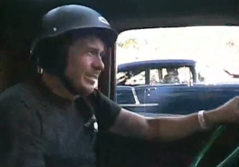 Awesome In-Car Footage Of A Blown Hot Rod Taking On A '55 Chevy At The Nostalgia Drags