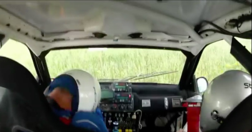 Telling Video: Watch A Rally Crash Where The Co-Driver Was HANS Equipped and The Driver Wasn't