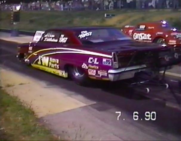 Doorslammer Video: Watch Jeff Littleton Slap One On Scotty Cannon At Lassiter Mountain Dragway Circa 1990