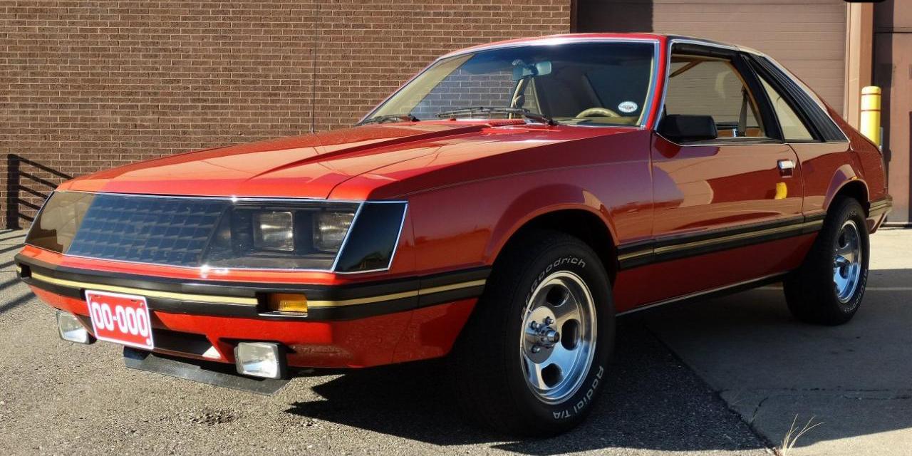 Random car review the 1979 ford mustang daytona