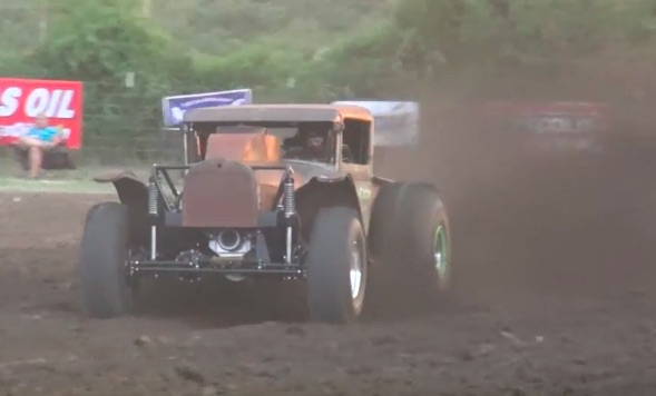 This Ford Model A Mud Dragger Is Ferocious: 650-cube Big Block And Under 3,000 Pounds!