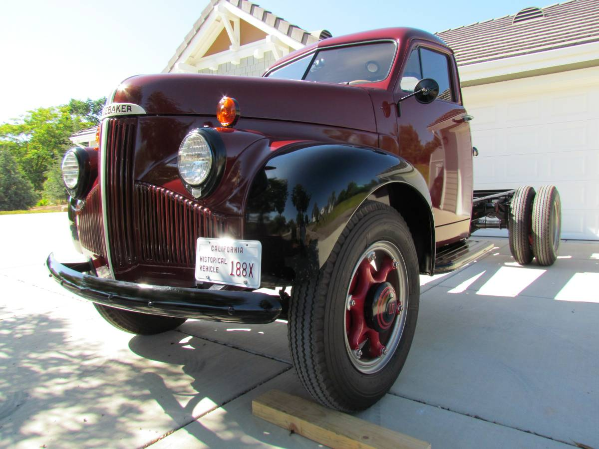 1942 studebaker m16 cab chassis truck