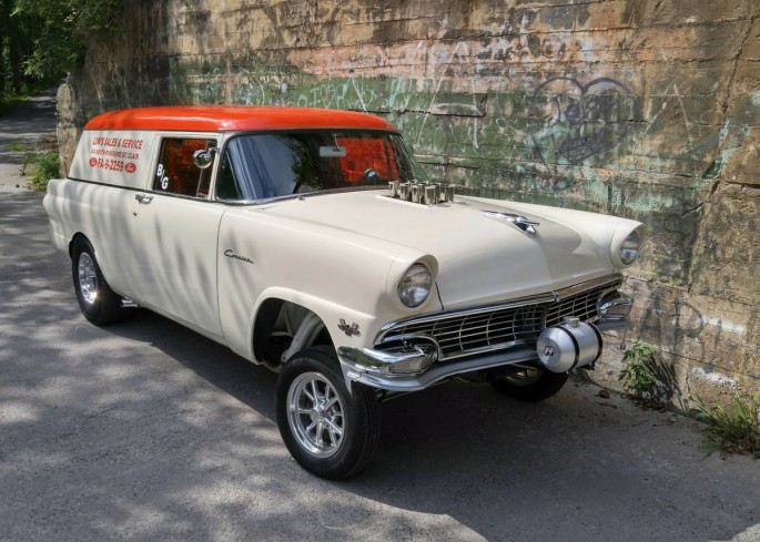 Bangshift Com This 1956 Ford Wagon Gasser Could Be The