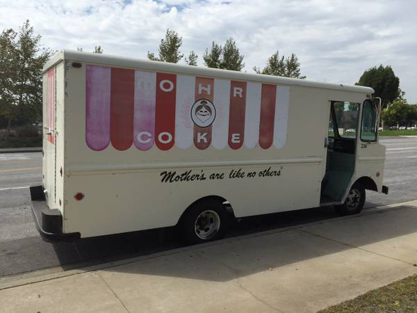 Keep Your Ice Cream Truck, We Want This Mother's Cookies Step Van!