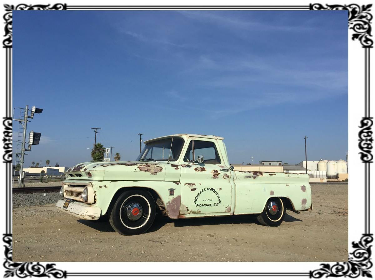 Bangshift Com This 1964 Chevrolet C10 Is The Perfect Patina Shop Truck Bangshift Com