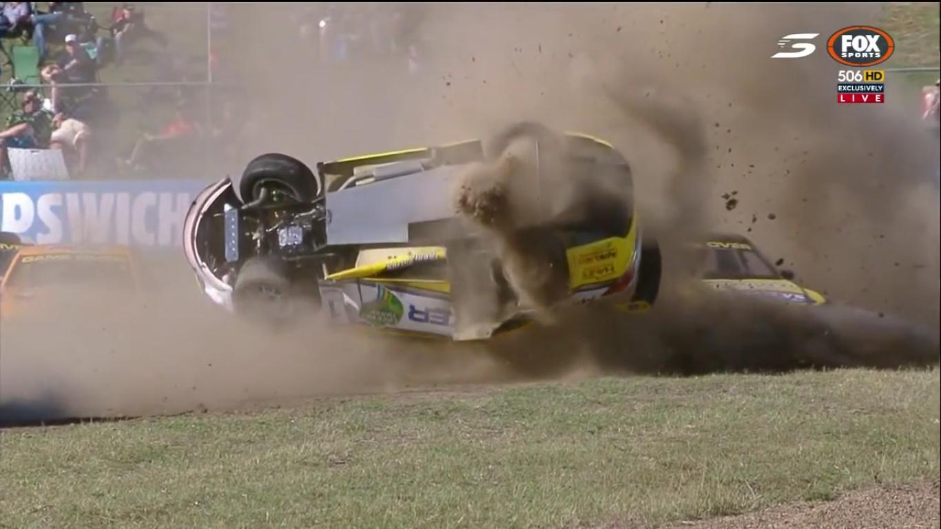 BangShift.com Aussie Racing Car Crash