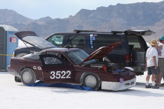 Bonneville Speed Week 2016 Monday Impound27