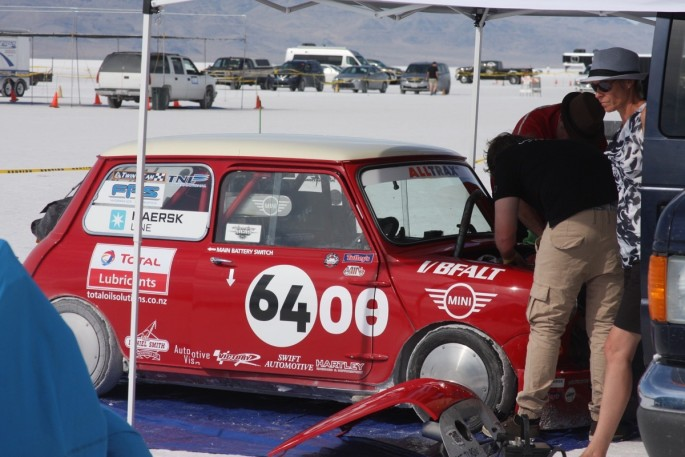 Bonneville Speed Week 2016 Monday Impound30
