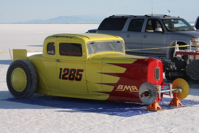 Bonneville Speed Week 2016 Tuesday impound15