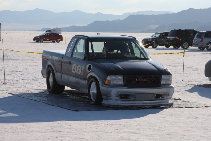 Bonneville Speed Week 2016 Tuesday impound20