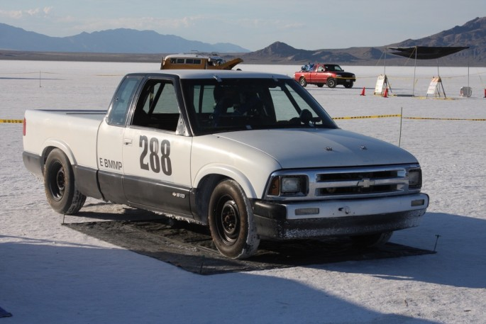 Bonneville Speed Week 2016 Tuesday impound50