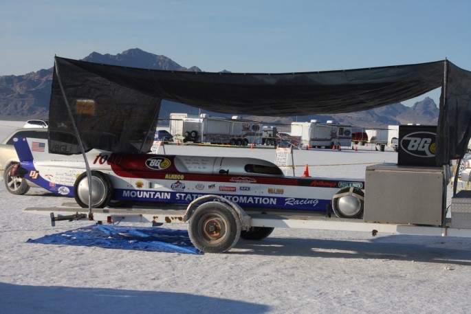 Bonneville Speed Week 2016 Tuesday impound51