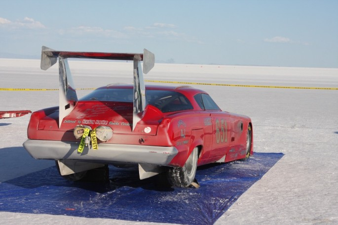 Bonneville Speed Week 2016 Tuesday impound7