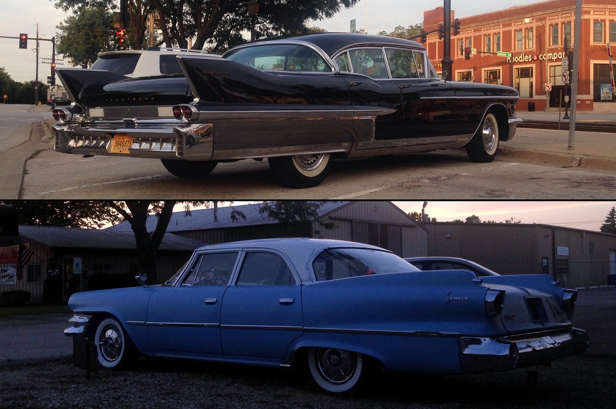 When Heading to Dinner With BangShift Leads to Big-Fin Spotting – 1958 Cadillac Or 1960 Dodge Seneca?