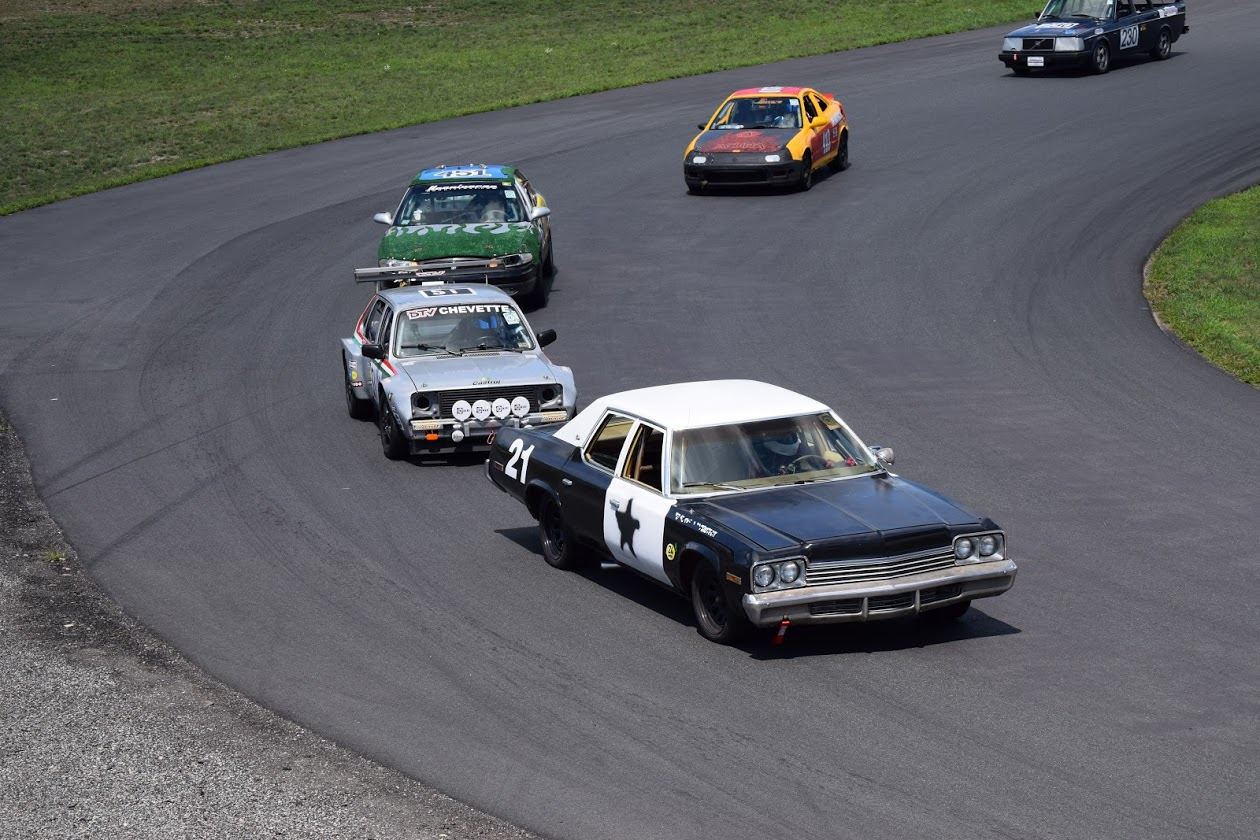 A Mid 70's Mopar Bluesmobile In The 24 Hours Of Lemons? It's Real, And It's Awesome!