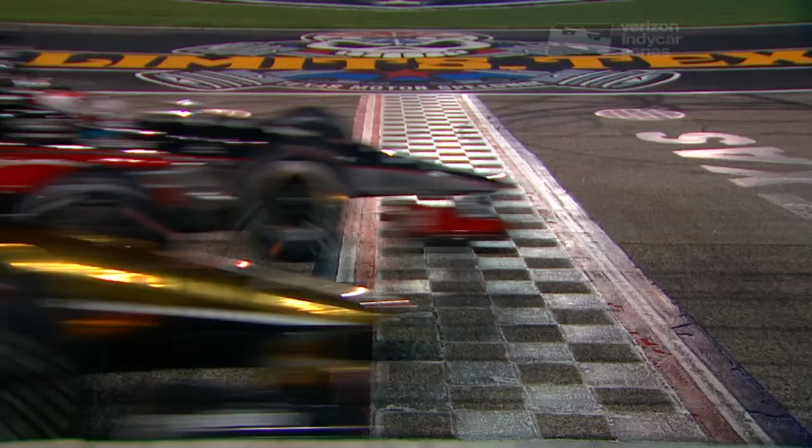 Graham Rahal Wins IndyCar Race By a Wing in Texas After Totally Insane Closing Laps