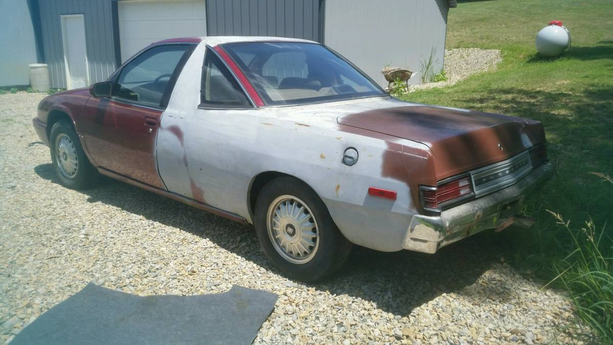 When You Have a Bunch of Half-Cars Lying Around: A Bizarre Buick Regal/Plymouth Scamp Hybrid
