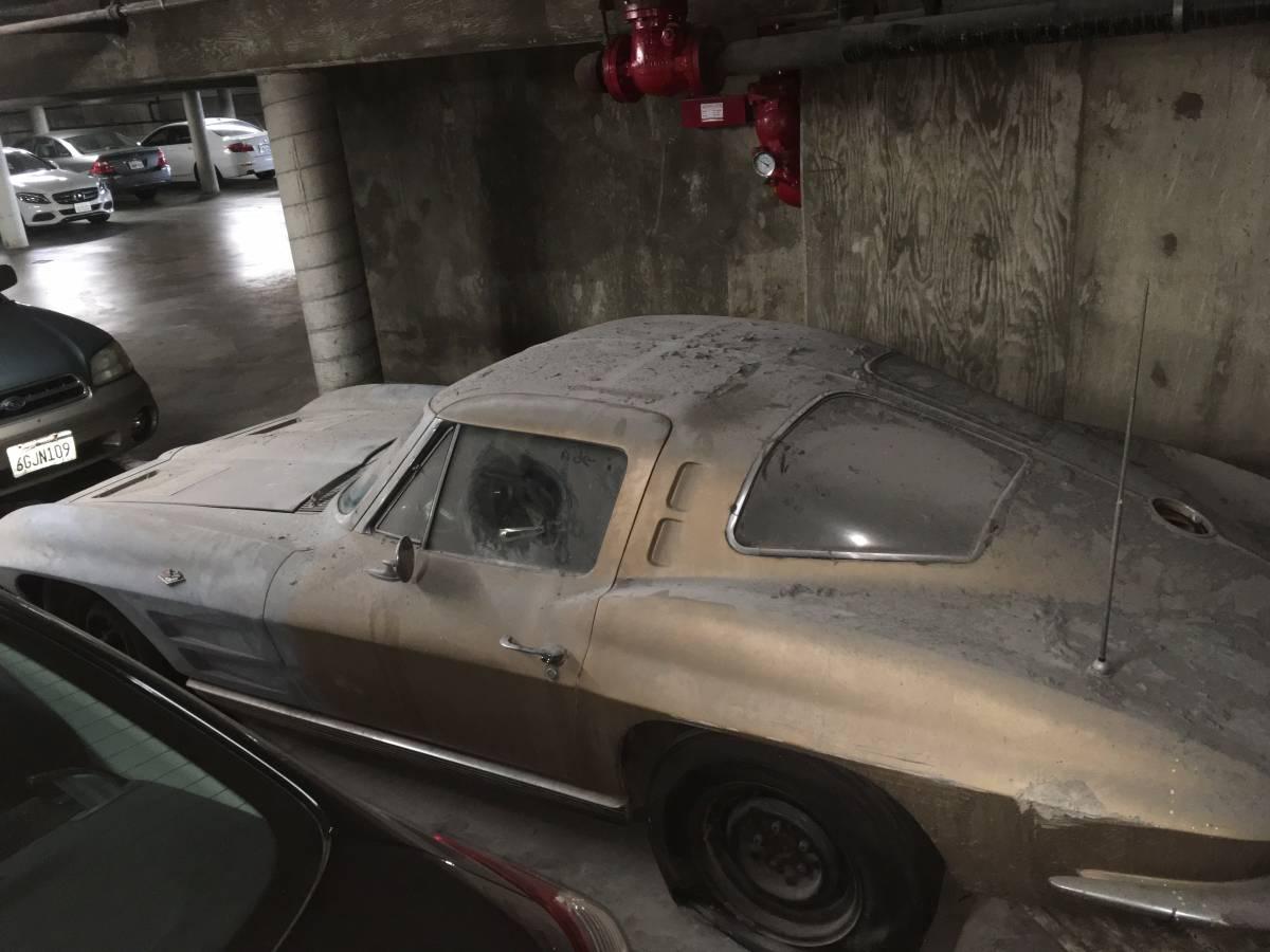 This 1963 split window corvette has been for Garage windows for sale