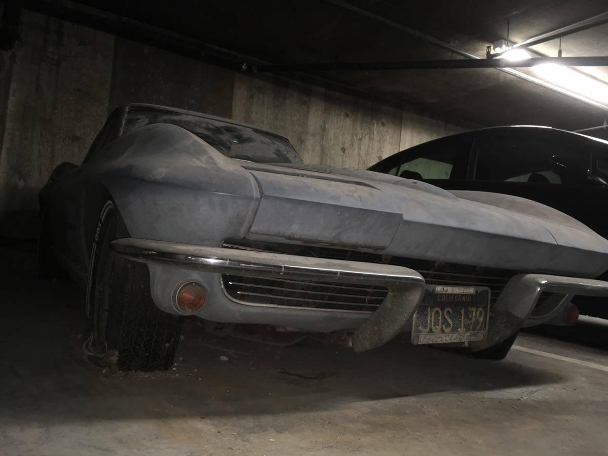 This 1963 Split Window Corvette Has Been