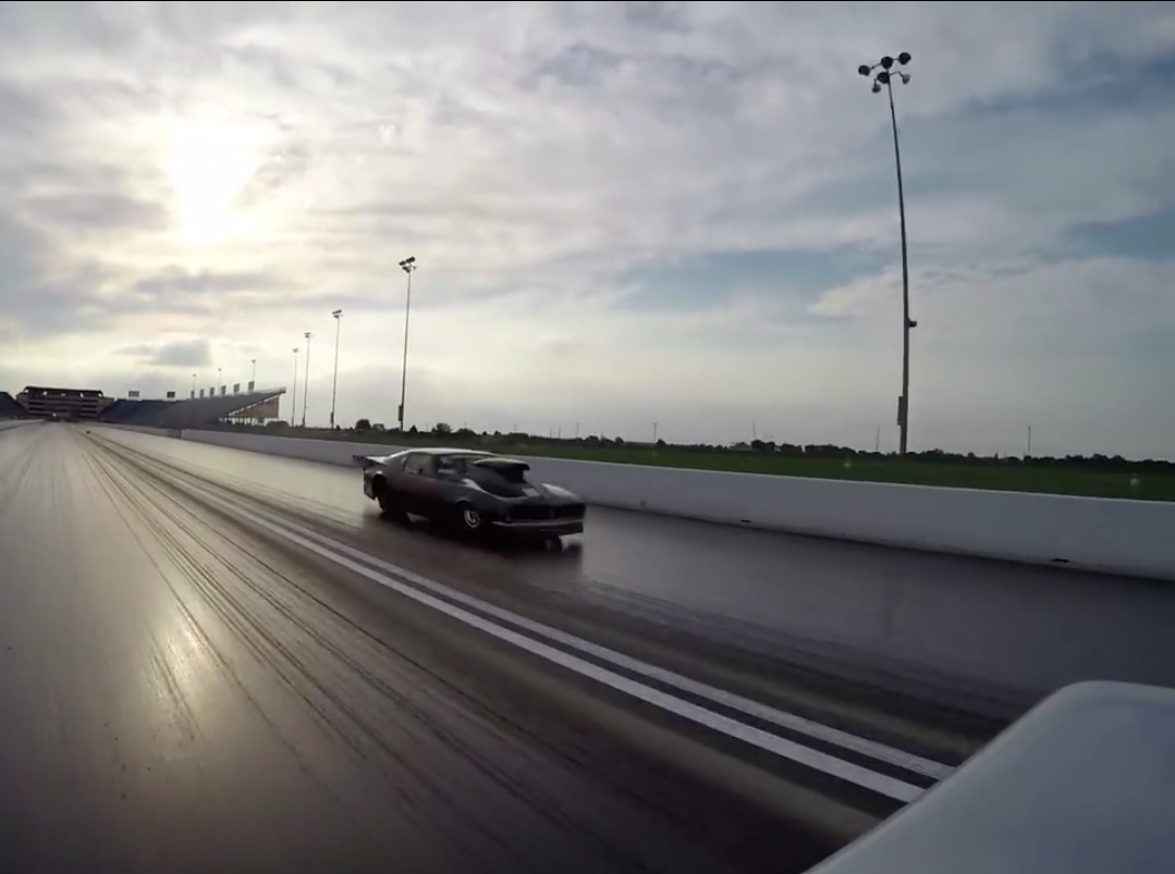 Here's What It Looks Like When A 12-Second Truck Takes On A 7-Second Top Sportsman Car – Handicapped Start!