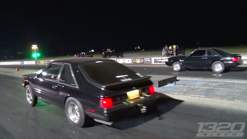BangShift Approved! Watch This Stick Shift, Vortech Blown, Coyote Powered Mercury Capri Mangle All Comers!