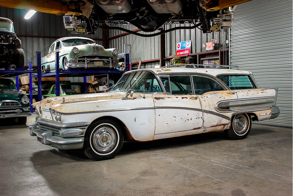 This 1958 Buick Caballero Century Estate Wagon Is Complete And Ready To Lead A Second Life – Amazing Car