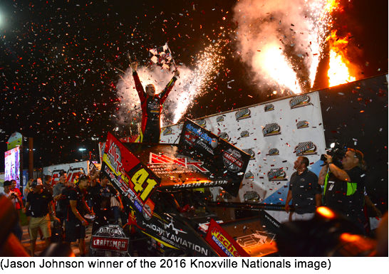 Weld Racing Dominate Knoxville Nationls – Weld Equipped Racers Win Every Single Feature At Event