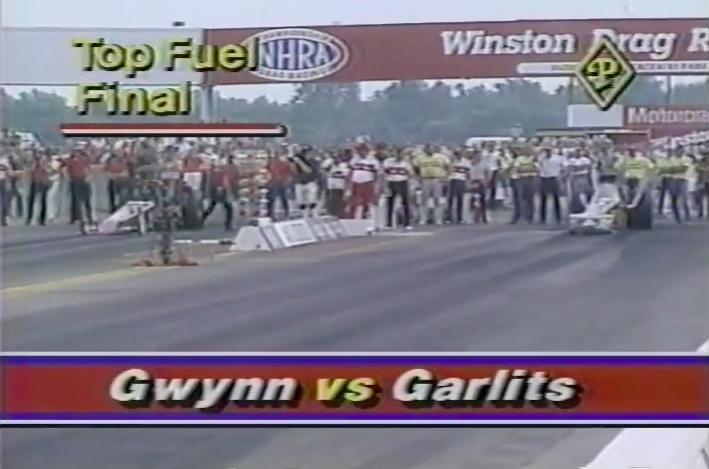 Watch The Top Fuel Final From The 1986 NHRA US Nationals – Garlits VS Gwynn!