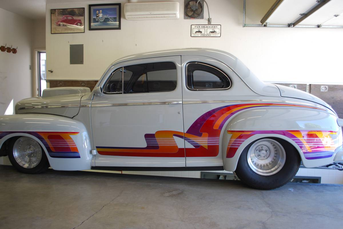 Lee Bettencourt's FattRat 1948 Ford Pro Street Coupe Is A 1990's Time Machine.