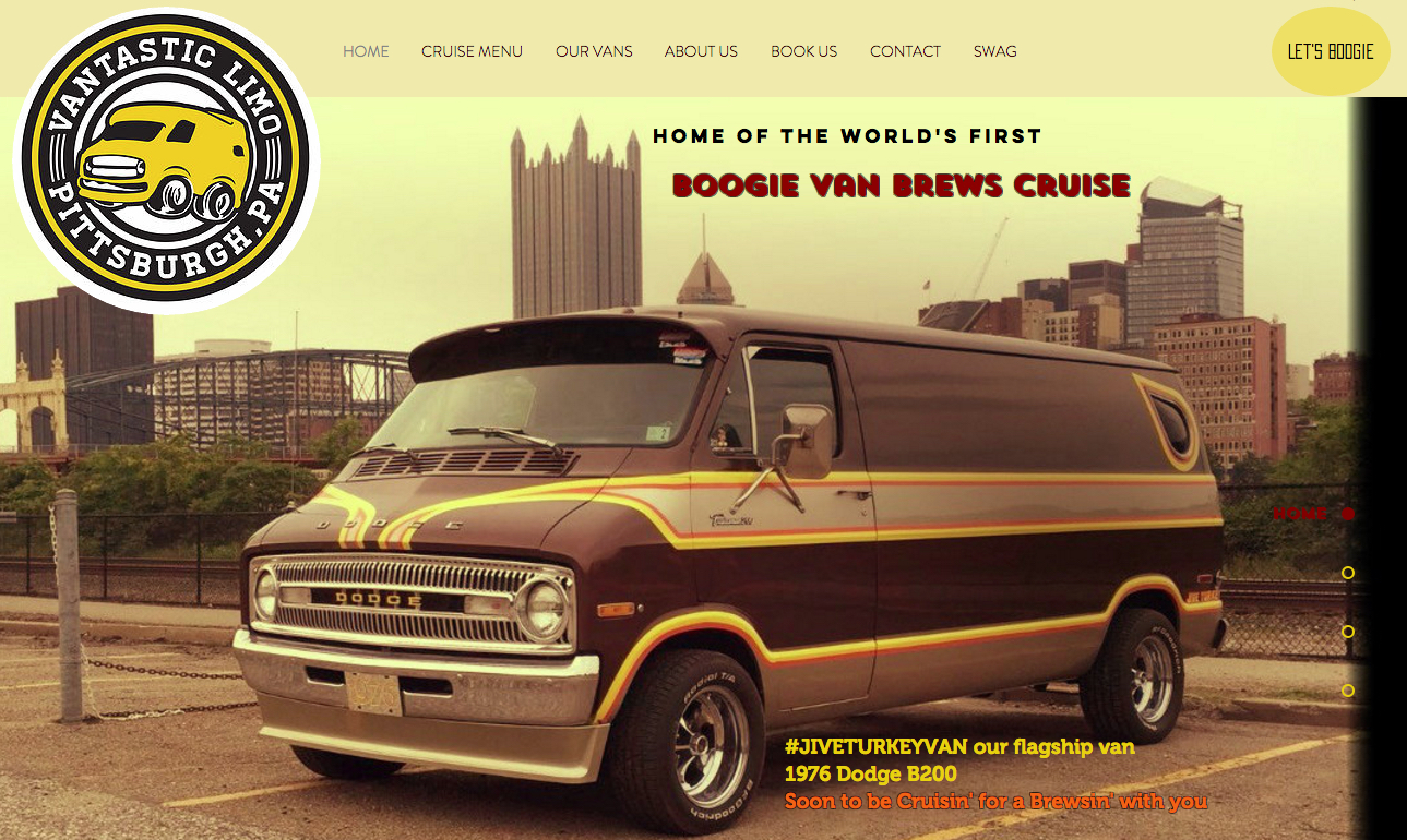 d30c0303ae Boogie Van Booze Cruise!!! Vantastic Limo Jive Turkey And A-Team Vans For  Booze Cruises!