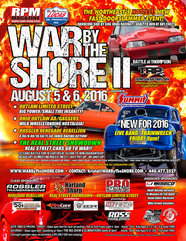 LIVE Drag Racing From War By The Shore And IHRA Pro Am Starts Saturday Morning