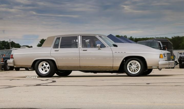 Battle Barge: This Buick Park Avenue Has Big Block Olds Power And Is One Sneaky Grudge Machine