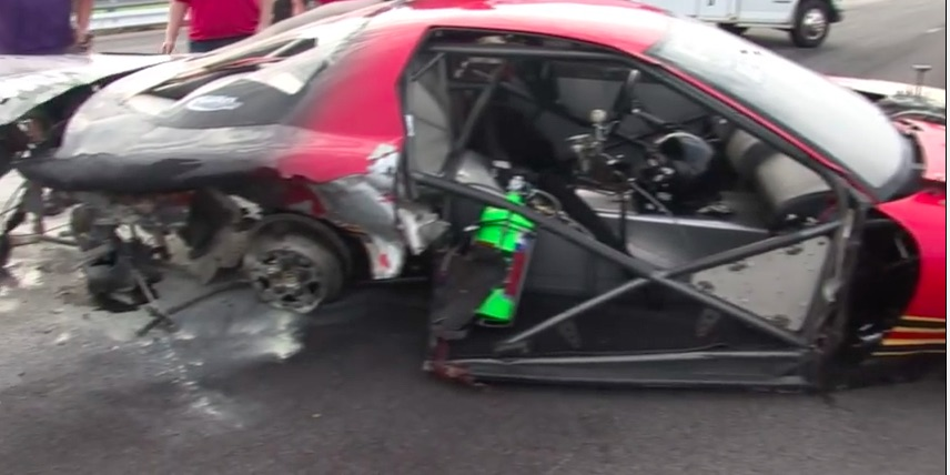 Watch This Former Bruce Allen Firebird Suffer A Nasty Wreck After Getting Out Of The Groove