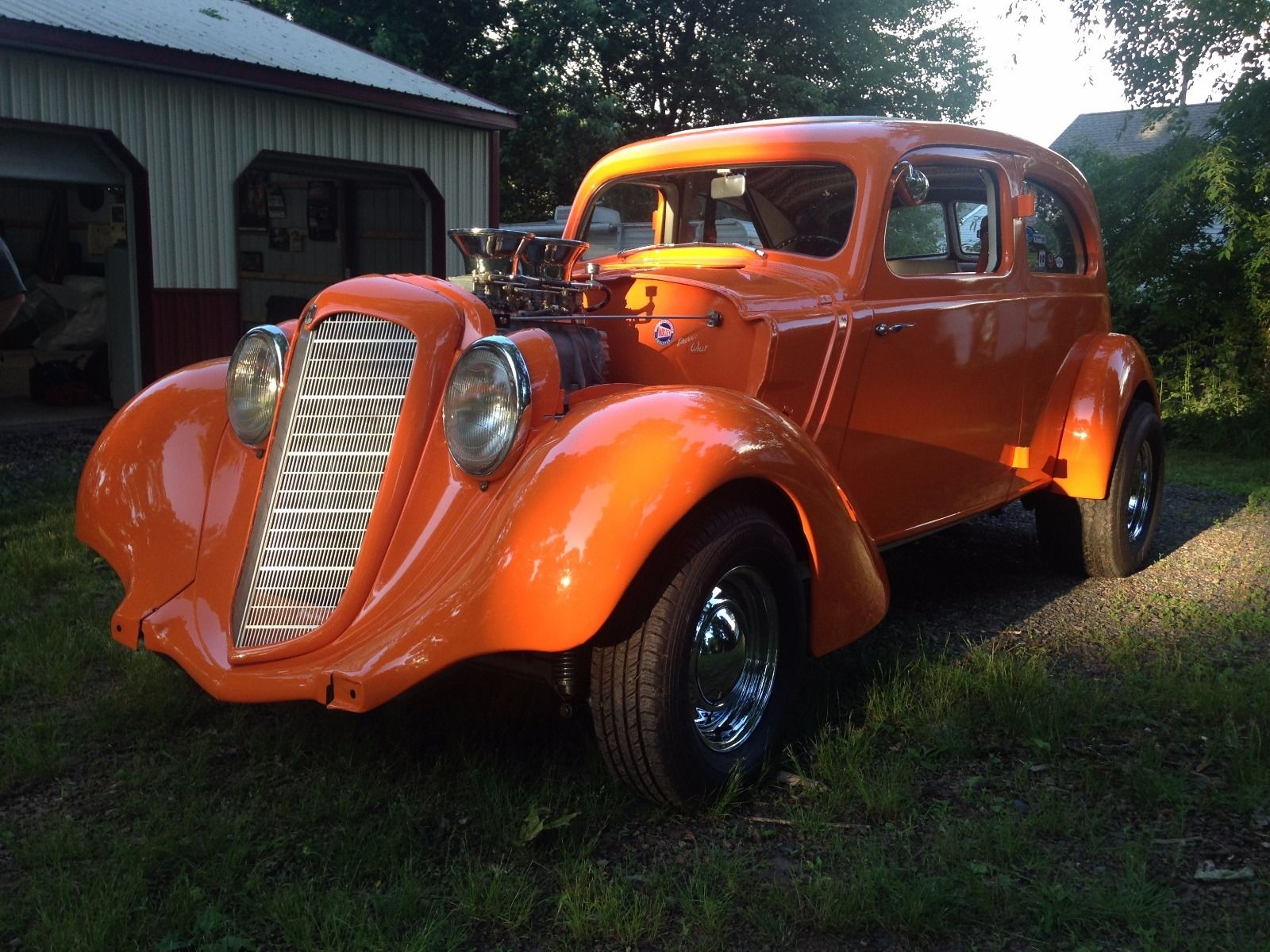 This Hupmobile Hot Rod Has Hemi Power, A Four Speed, And A Huffer – A Cool Oddball