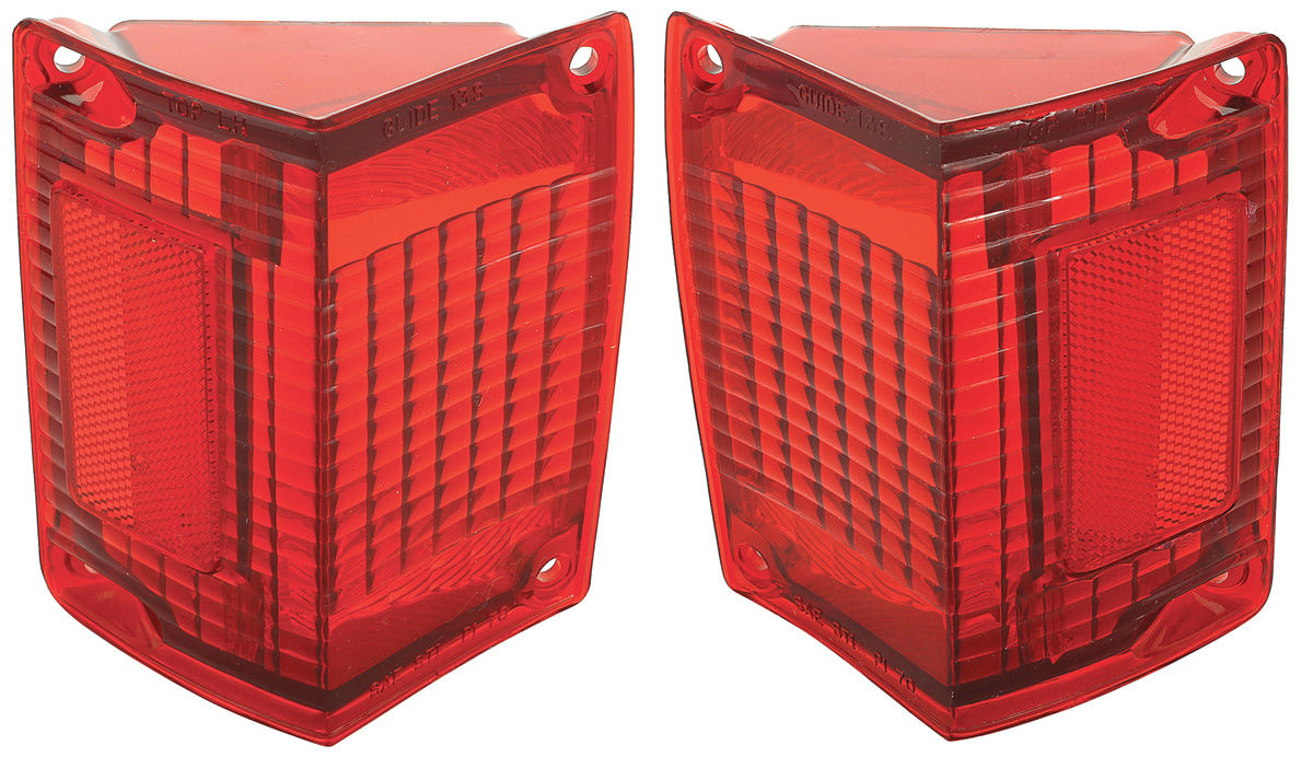 Crummy Looking Tail Lights In Your 70-72 El Camino Or Wagon Have You Down? OPGI's Got The Fix!