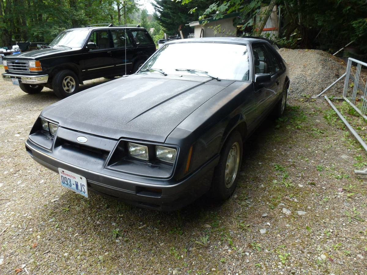 Rough start like fox mustangs check out this 1985 mustang gt get