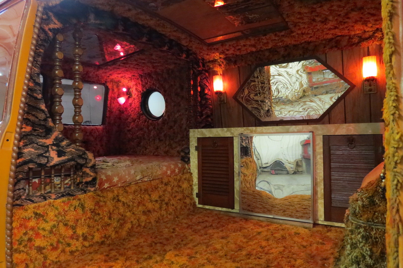 This Is What One Would Expect To See Inside Of A True 70s Custom Van Its Equal Parts Brothel And Your Parents Basement Circa 1978