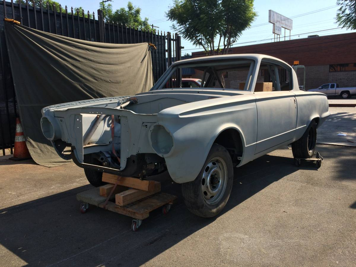 This barracuda project could be just what for 1965 barracuda rear window