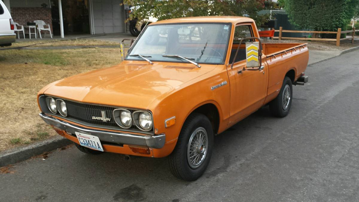 Rough Start This 1973 Datsun 620 Can Be Your Starter Shop Truck