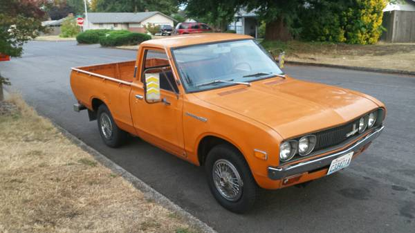 BangShift.com Rough Start: This 1973 Datsun 620 Can Be ...