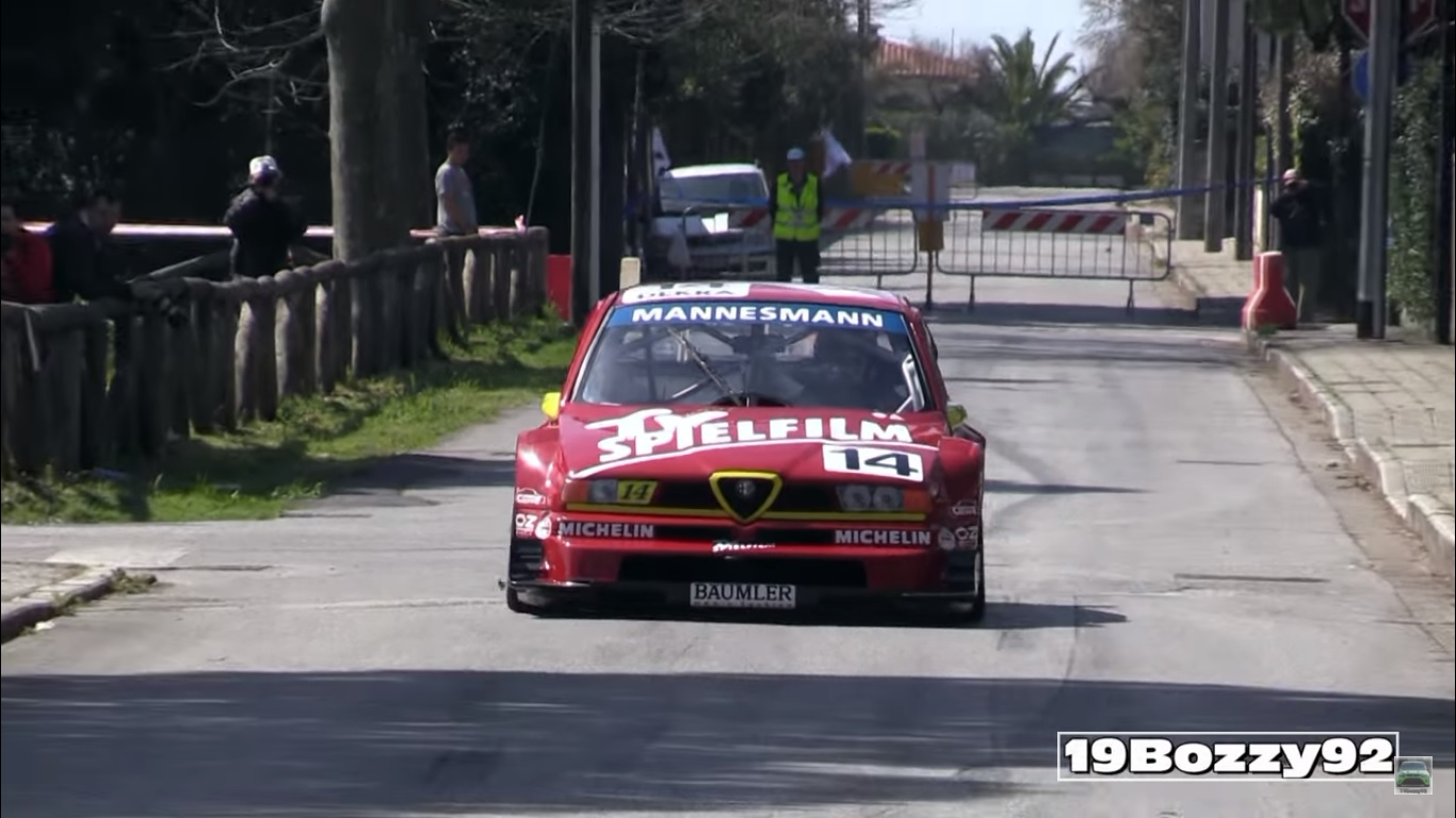This Class Alfa Romeo 155 DTM Car Revs to 12,000 RPM and Is a Proper Italian Work of Art
