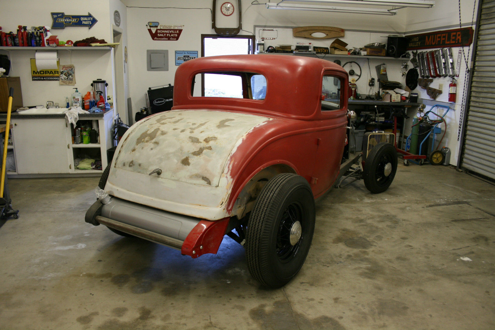 all steel original 1932 ford three window coupe