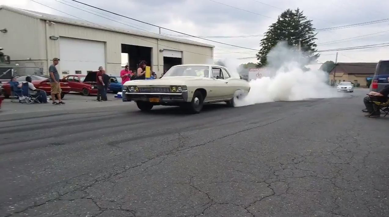 This LS Swapped 1968 Biscayne Does Killer Burnouts